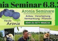 Aronia Seminar 6.8.2016