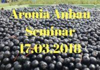 Aronia Anbau Seminar 2018
